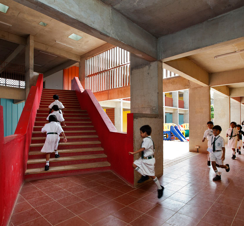 Dps kindergarten school khosla associates architecture - Interior designing colleges in bangalore ...