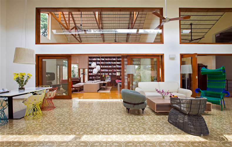 The Library House Khosla Associates Architecture