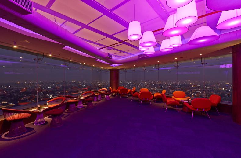 High Ultra Lounge Khosla Associates Architecture